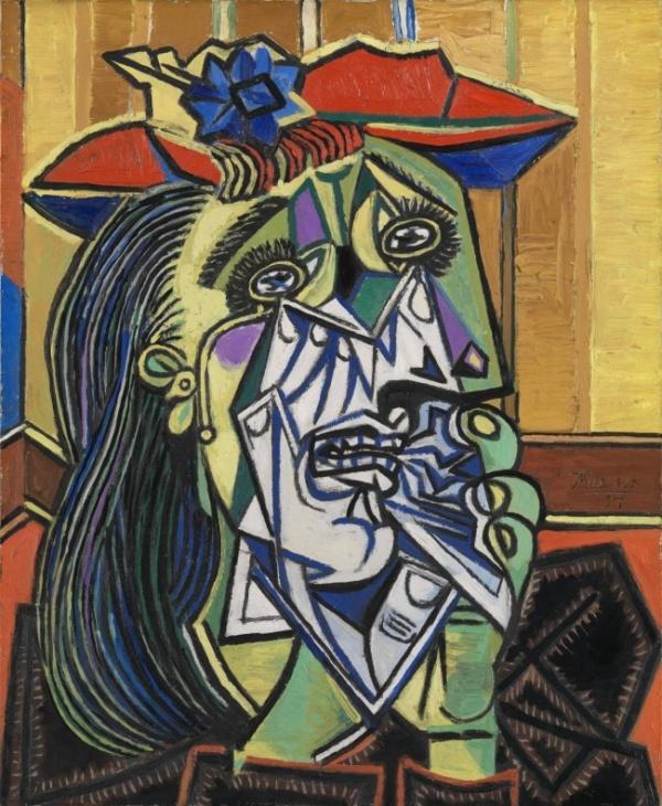 Плачущая женщина 1937