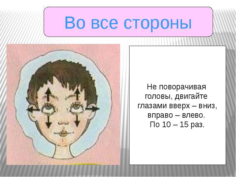 Болят глаза напряжение