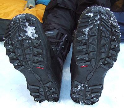 ботинки salomon toundra mid wp