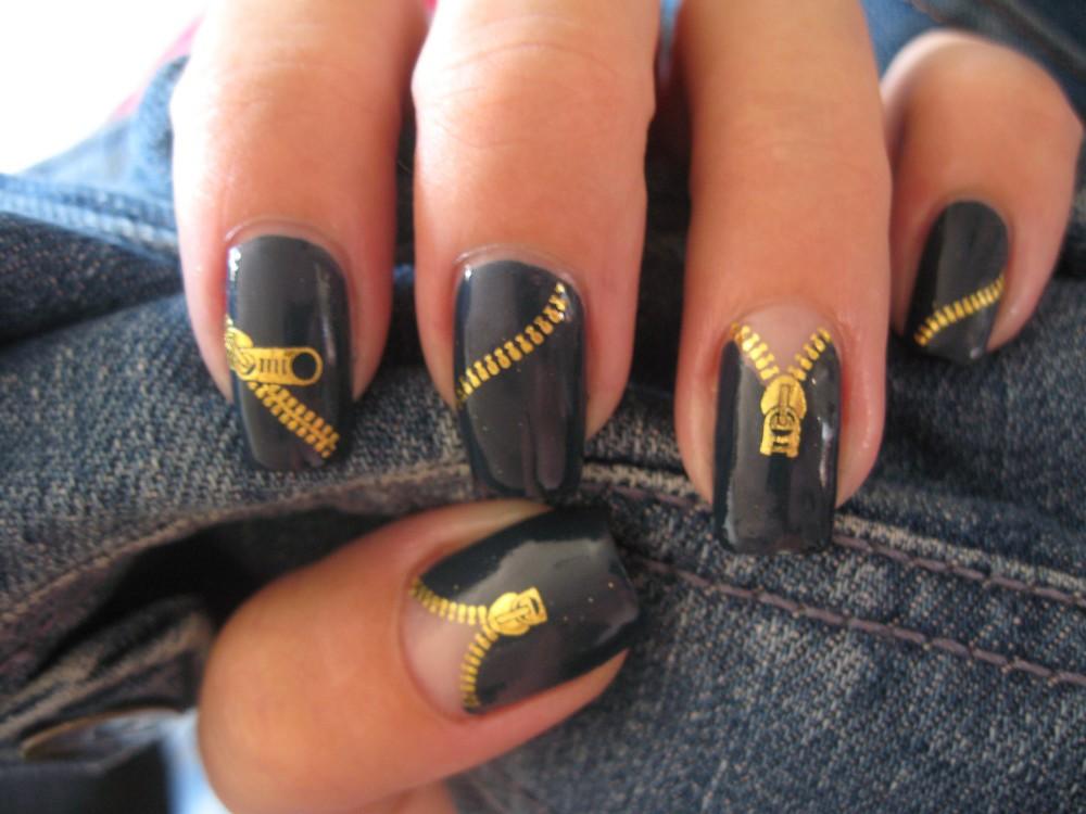 модные ногти лак