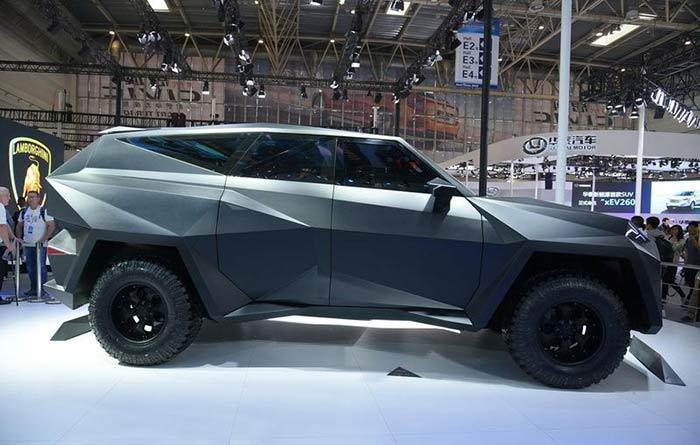 самый дорогой китайский автомобиль