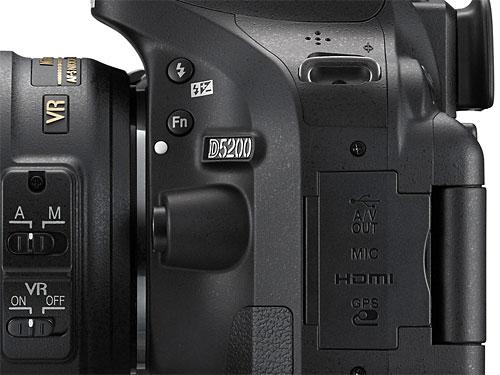 Настройки фотоаппарата никон д5200