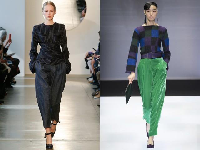модные тенденции брюк 2016