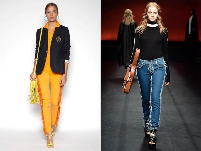 модные джинсы 2016 фото