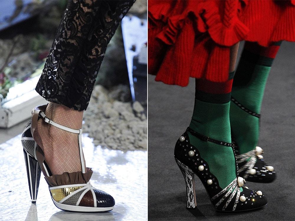 Туфли женские 2017 года модные