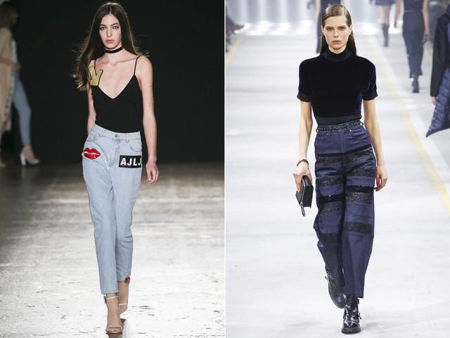 Джинсы 2016 года модные тенденции женские