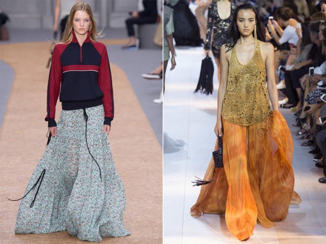 модные юбки весна лето