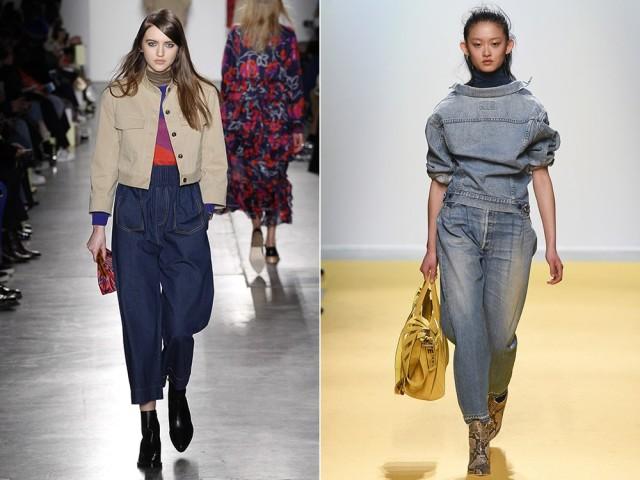 Модные джинсы осень, зима 2016, 2017