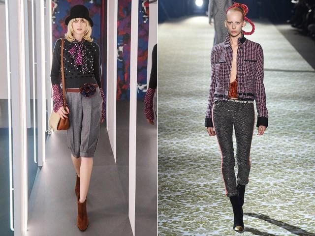 Модные брюки осень зима