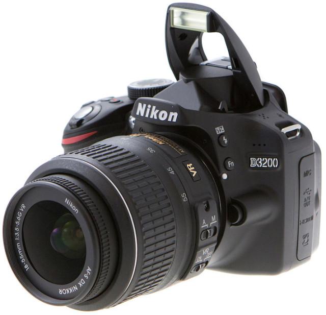 Как настроить фотоаппарат никон д3200
