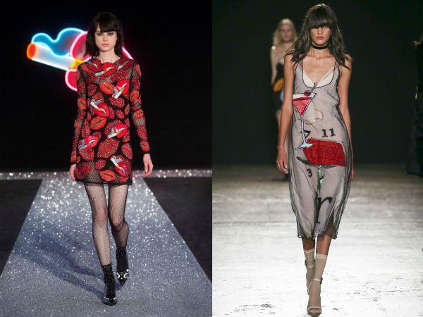 Вышивка и декоративные элементы модные тенденции платья 2017