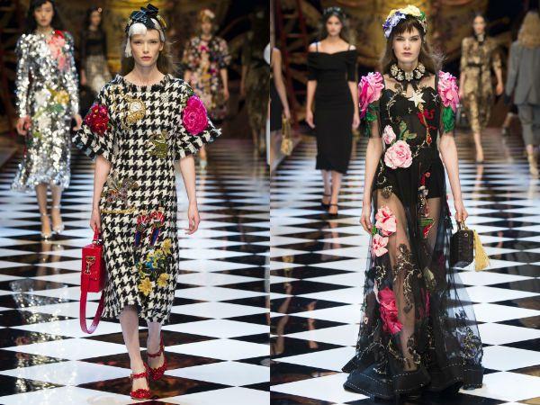 Многоуровневое платье Cмок модные тенденции 2016 2017 фото