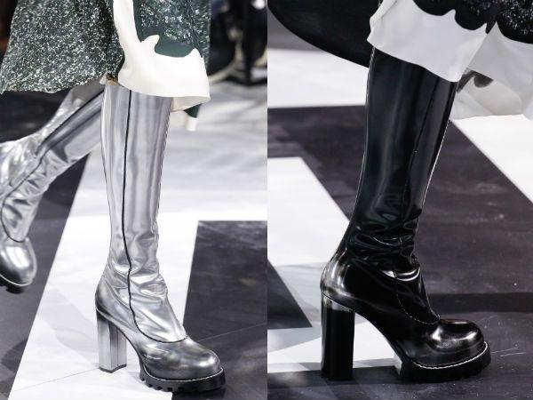 Модные сапоги 2017 тенденции