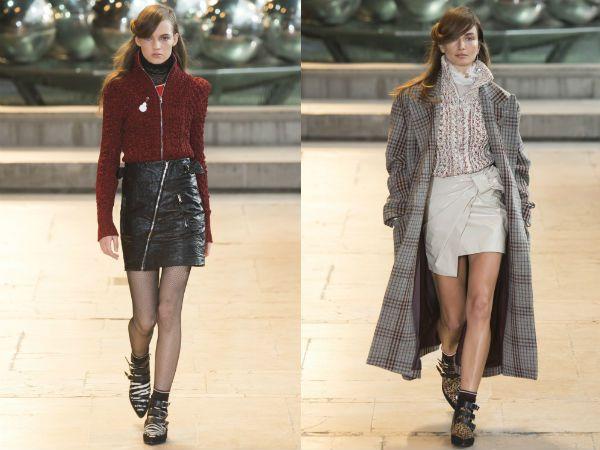 Модные юбки осень зима 2016 2017 фото