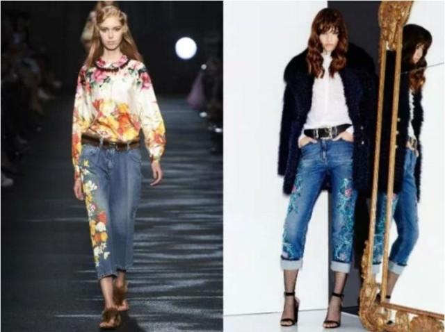 модные тенденции джинсов