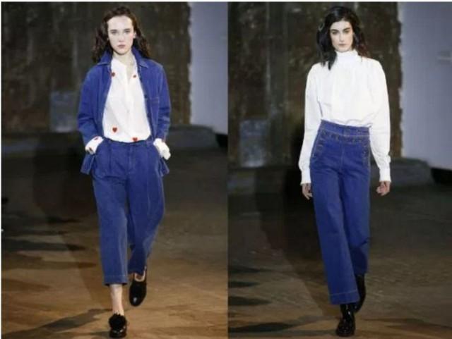 модный цвет джинсов