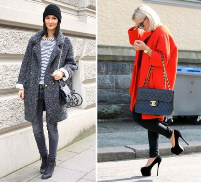 пальто зима 2017 года модные
