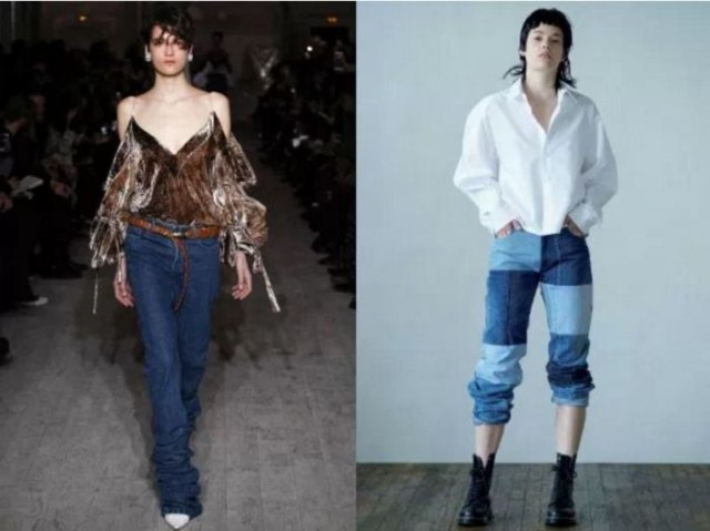 модные луки с джинсами