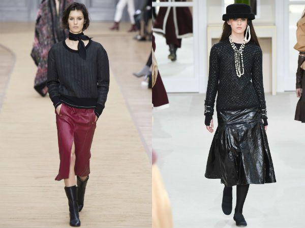 какие юбки +в моде 2016 осень зима