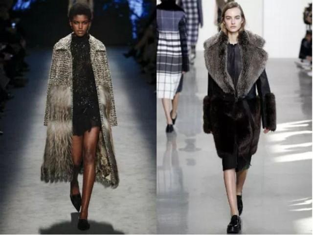 зимнее пальто +с меховым фото