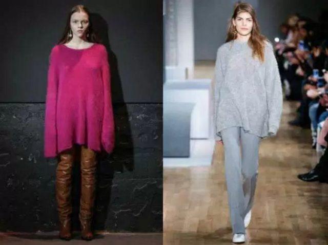 модные кофты свитера