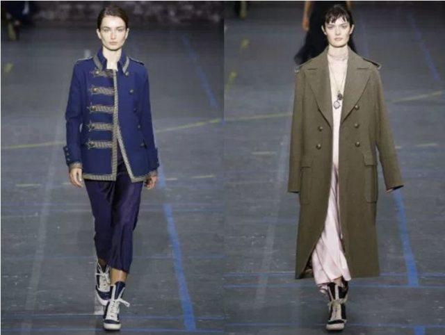 новые тенденции моды пальто 2017 год