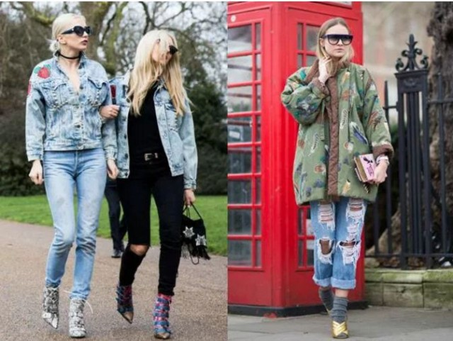 уличная мода осень зима 2017 фото