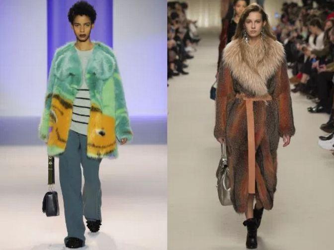 шубы 2017 года модные