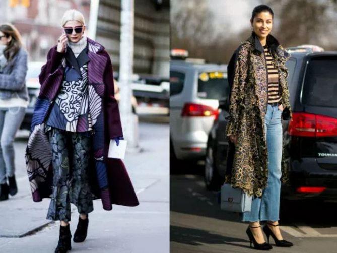 как стильно одеться зимой