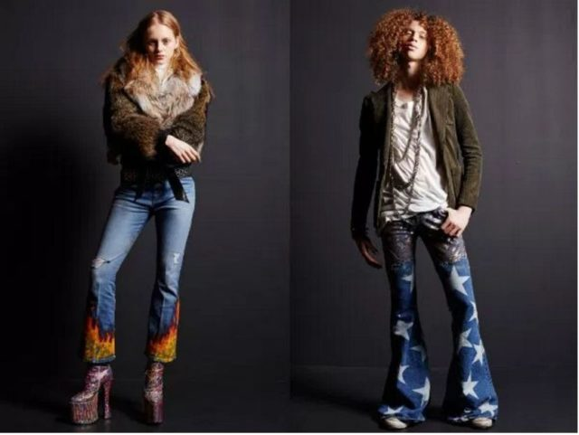 фото модных женских джинсов 2017