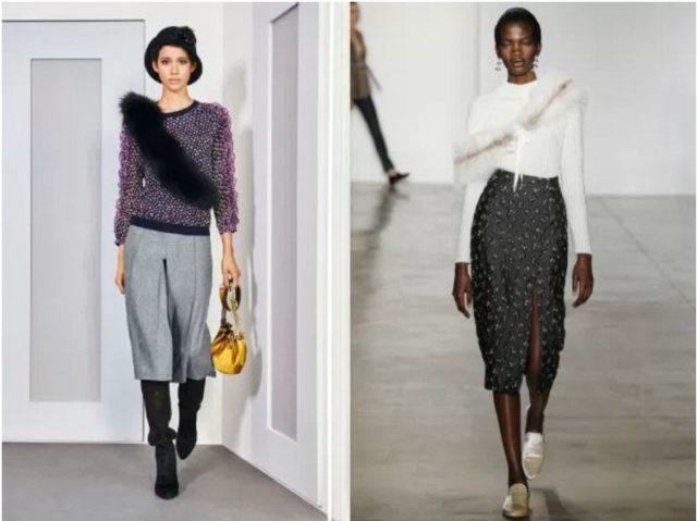 модные зимние свитера женские