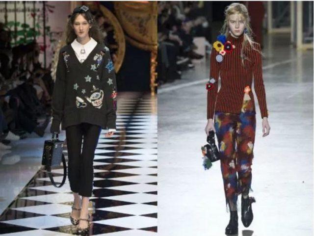 модные вязанные свитера женские