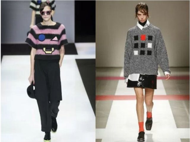 модные молодежные свитера