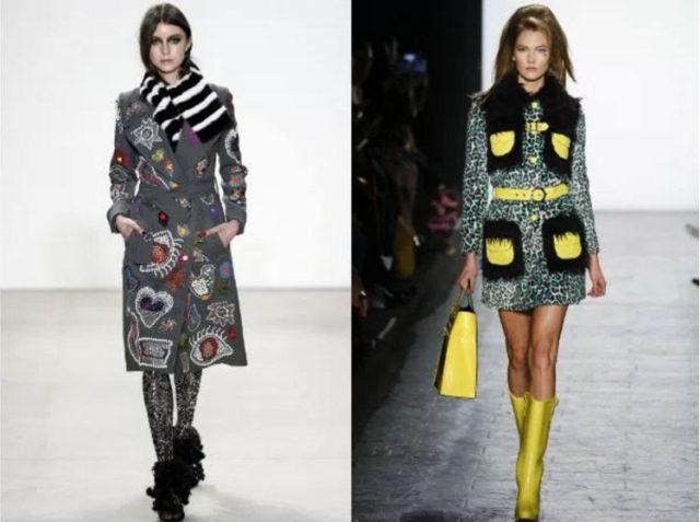 пальто женское модное осень