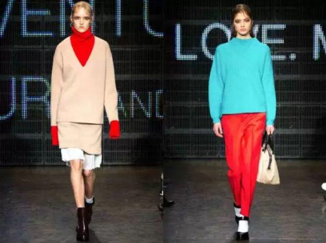 модные модели вязанных женских свитеров