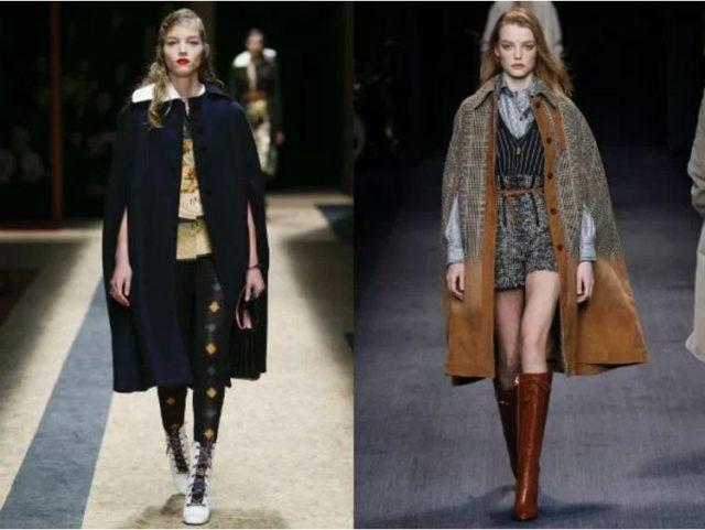 фото модных пальто осень