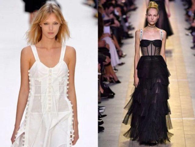 какие платья в моде в 2017 году