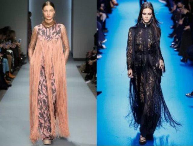 модные фасоны платьев 2017