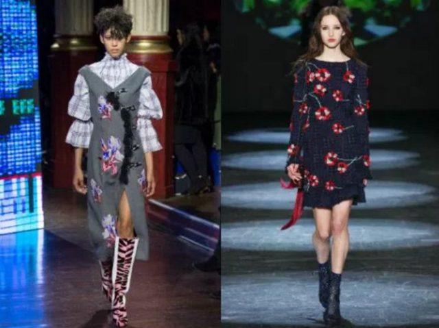 модные модели платьев
