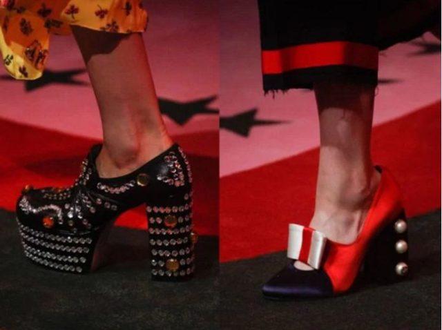 стильный обувь
