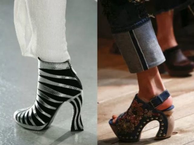 какой каблук в моде 2017