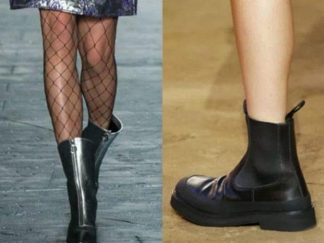 модная обувь осень 2017 женская