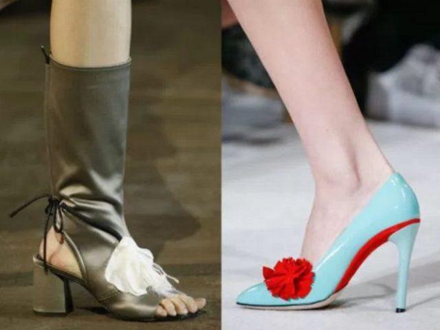 обувь 2017 года модные тенденции