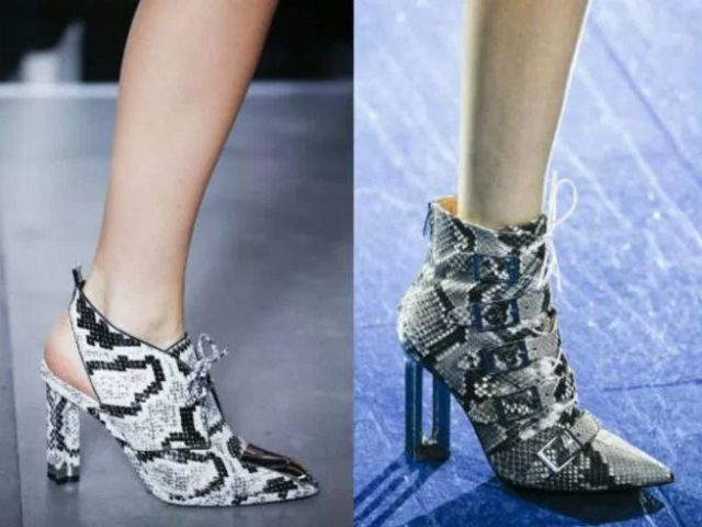 модная обувь 2017 женская