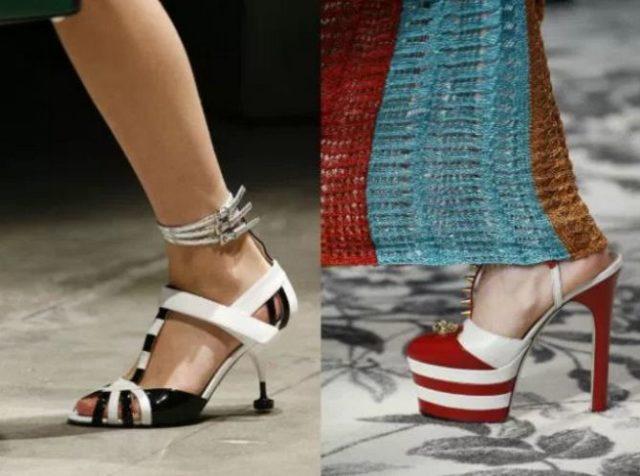мода обувь лето 2017