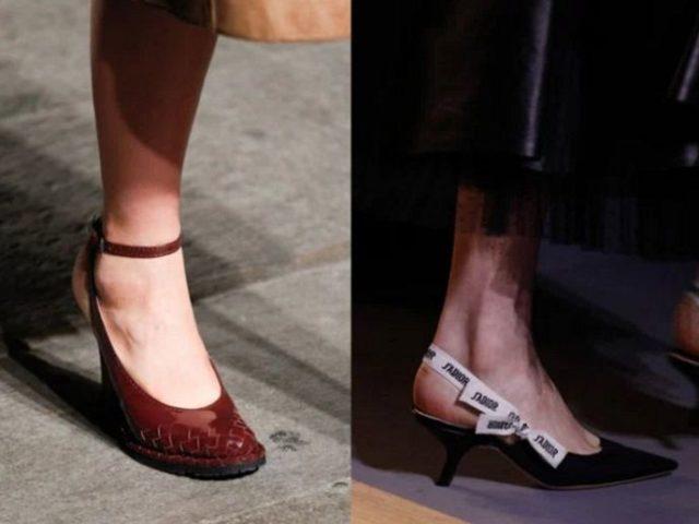 обувь весна 2017 года модные тенденции фото