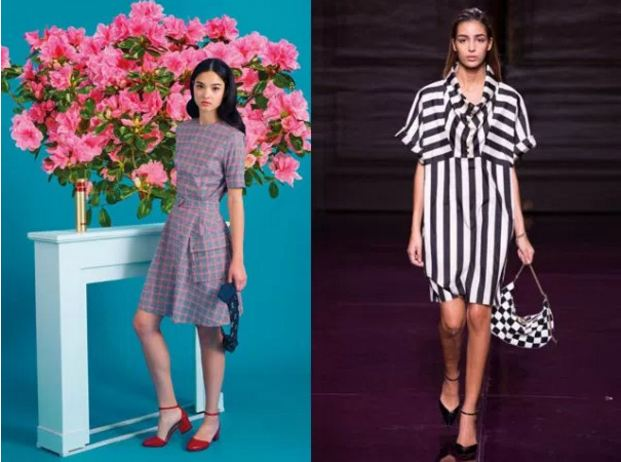 фото женщин модных платьях