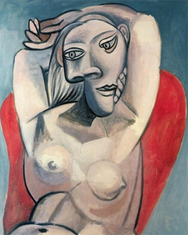 «Женщина в красном кресле», 1939