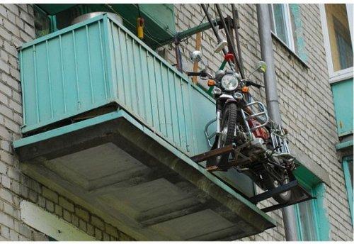 где можно хранить мотоцикл если нет гаража,где хранить мотоцикл зимой если нет гаража