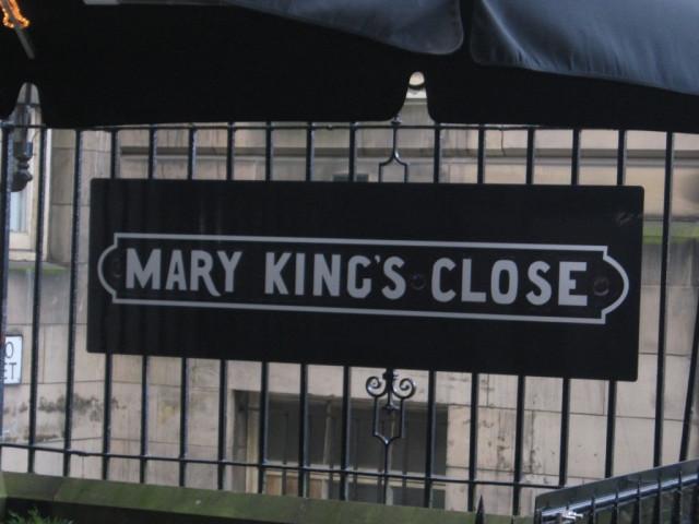 тупик мэри кинг в эдинбурге,тупик мэри